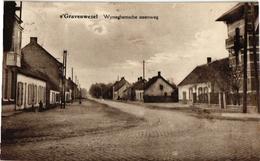 1 Oude Postkaart, Met Adres En Zegel=verstuurd Geweest - S' Gravenwezel -  Wijneghemsche Steenweg Wijnegemse Anno  1930 - Schilde