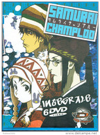 INTEGRALE SAMURAI CHAMPLOO 6 DVD EDITION COLLECTOR MANGA LANGUES FRANCAIS JAPONAIS - Manga