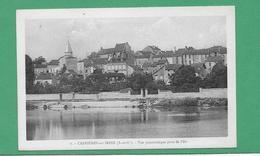 CPA 78 CARRIERES SUR SEINE  VUE PANORAMIQUE PRISE DE L ILE - Carrières-sur-Seine