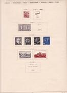 Suisse - Collection Vendue Page Par Page - Timbres Oblitérés / Neufs *(avec Charnière) -Qualité B/TB - Suisse