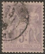 France Yvert 95 TB Bon Centrage Sans Défaut Cote EUR 135 (numéro Du Lot 74J) - 1876-1878 Sage (Type I)