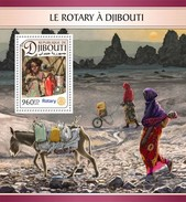 Djibouti - Postfris/MNH - Sheet Rotary In Djibouti 2016 - Djibouti (1977-...)