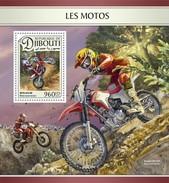 Djibouti - Postfris/MNH - Sheet Motoren 2016 - Djibouti (1977-...)