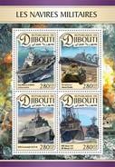 Djibouti - Postfris/MNH - Sheet Militaire Schepen 2016 - Djibouti (1977-...)