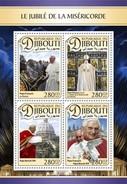 Djibouti - Postfris/MNH - Sheet De Paus 2016 - Djibouti (1977-...)