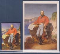 = Garibaldi Par Garacci, Palais Masséna De Nice Carte + Magnet - Pittura & Quadri