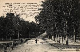 CARHAIX -29- LE CHAMP DE FOIRE - Carhaix-Plouguer