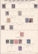 Espagne - Collection Vendue Page Par Page - Timbres Oblitérés / Neufs *(avec Charnière) -Qualité B/TB - Colecciones