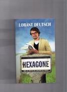 """LORANT  DEUTSCH  --  """"""""  EXAGONE  """"""""  --  SUR  LES  ROUTE  DE  L ' HISTOIRE  DE  FRANCE  --  TBE......... - Historique"""