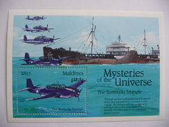 "Maldives   1993  N° Y&T BF 275   Mysteries Of The Universe  ""Bermuda Triangle""  1v.  Neuf - Maldives (1965-...)"