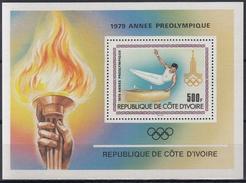 COSTA DE MARFIL 1979 HB-15 NUEVO - Ivory Coast (1960-...)