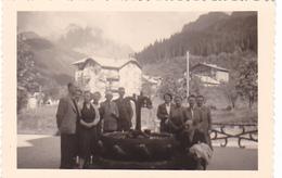 25948- Lot De 2 Photos Concernant J-Bte DEWEIRT  (DE WEIRT)- Belgique Bouffioulx- San Marino - Personnes Identifiées