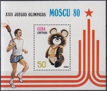 CUBA 1980 HB-60 NUEVO - Blocs-feuillets