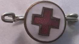 Croix Rouge. Epingle Ancienne.  Rood Kruis. Oud Speldje - Medical