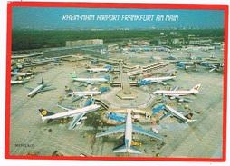 VV-374   FRANKFURT A. MAIN : Rhein-Main Airport - Aérodromes