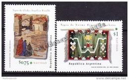 Argentina 1996 Yvert 1952- 53, Christmas, Noël - MNH - Neufs