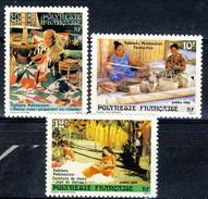 Polynesie 1986 Serie N. 263-265 MNH Cat. € 1.70 - Ungebraucht