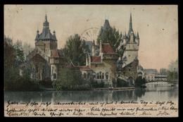 [018] Budapest, Landwirtschaftliches Museum, Gel. 1906 - Ungarn