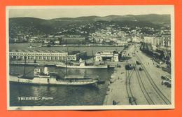 """CPA Trieste  """" Porto """"  - LJCP 20 - Trieste"""