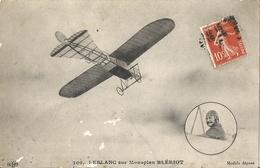 CPA Leblanc Sur Monoplan Blériot - 1914-1918: 1. Weltkrieg