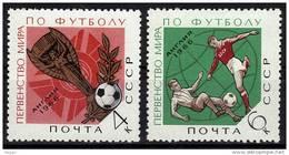 URSS N°  3107/08 * *      Cup 1966   Football  Soccer  Fussball - Fußball-Weltmeisterschaft