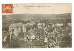 CPA 10 BAR SUR SEINE VUE GENERALE - Bar-sur-Seine
