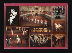 [015] Pferde-Karte 125, 1972, 400 Jahre Spanische Hofreitschule Wien, 10 Karten - Cavalli