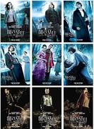 9 Postcards Of   Harry Potter  Goblet Of Fire  Moive Film Poster,  Postkarte Carte Postale - Affiches Sur Carte