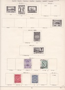 Turquie - Collection Vendue Page Par Page - Timbres Oblitérés / Neufs *(avec Charnière) -Qualité B/TB - 1921-... République