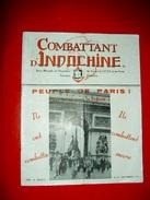 Combattant D' Indochine Revue Mensuelle CEFEO  Forces Française D'Indochine N°13 Septembre 1951 - Geschiedenis