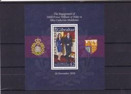 GIBRALTAR : Fiançailles Du Prince Wiliam :  Y&T : BF 98** - Gibraltar