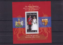 GIBRALTAR : Mariage  Du Prince Wiliam :  Y&T : BF 102** - Gibraltar