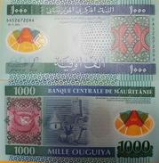 O) 2014 MAURITANIA, BANKNOTE - POLYMER, 1000 OUGUIYA UNC- MRO, CAMEL, CULTURE - Mauritania