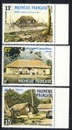 Polynesie 1988 Serie N. 299-301 MNH Cat. € 2.10 - Ungebraucht