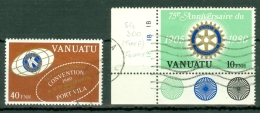 Vanuatu: 1980   75th Anniv Of Rotary International    Used - Vanuatu (1980-...)