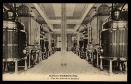 25 - Pontarlier Maison Pernod Fils 4 - Une Des Allées De La Distillerie #02064 - Pontarlier