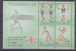 Finland 1994 Atletics / Finlandia ´95 M/s ** Mnh (34497)