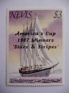 """Nevis    1987  N° Y&T  465    """" Americas Cup """"  1v.  Neuf - St.Kitts-et-Nevis ( 1983-...)"""