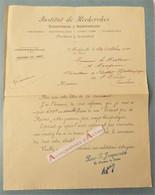 Lettre 1905 Malzéville Institut De Recherches Scientifiques & Industrielles- JACQUEMIN Flacon Raisins > Docteur Masquin - 1900 – 1949