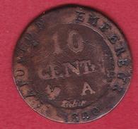 France 10 Centimes Premier Empire 1809 A - France