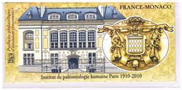 BLOC SOUVENIR - EMISSIONS COMMUNES - 2010 - P 4456 - FRANCE - MONACO - NEUF** SOUS BLISTER - Foglietti Commemorativi