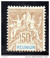 GF1101 - REUNION 1900 , Il  N. 51  *  Mint - Isola Di Rèunion (1852-1975)