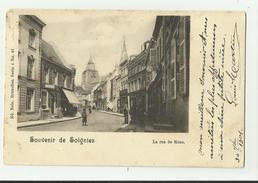 Soignies   *  La Rue De Mons   (Nels,04/67) - Soignies