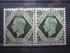 BEAUX TIMBRES DE GRANDE-BRETAGNE N° 220 EN PAIRE , XX !!! (b) - Unused Stamps