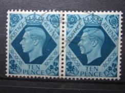 BEAUX TIMBRES DE GRANDE-BRETAGNE N° 221 EN PAIRE , XX !!! (b) - Unused Stamps