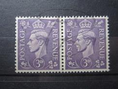 BEAUX TIMBRES DE GRANDE-BRETAGNE N° 214A EN PAIRE , XX !!! - Unused Stamps