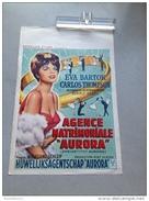 "Eva Bartok ,Carlos Thompson ,agence Matrimonial ""aurora"" 1962 Affiche Ancienne - Affiches & Posters"