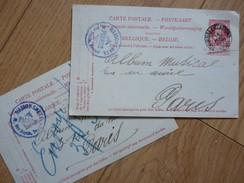 1905. Manufacture PIANO SMETS / DE SMET. Tournai Bruxelles. BELGIQUE / BELGIE. Autographe - Autographes