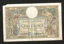 "FRANCE - BANQUE De FRANCE - 100 Francs ""Luc Olivier Merson"" ( G. 23 . 4 . 1926 ) - 1871-1952 Antichi Franchi Circolanti Nel XX Secolo"