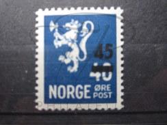 BEAU TIMBRE DE NORVEGE N° 310 , XX !!! - Norvège